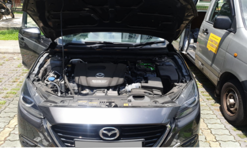 Mazda 3 EFB iStop Amaron Car Battery Replacement